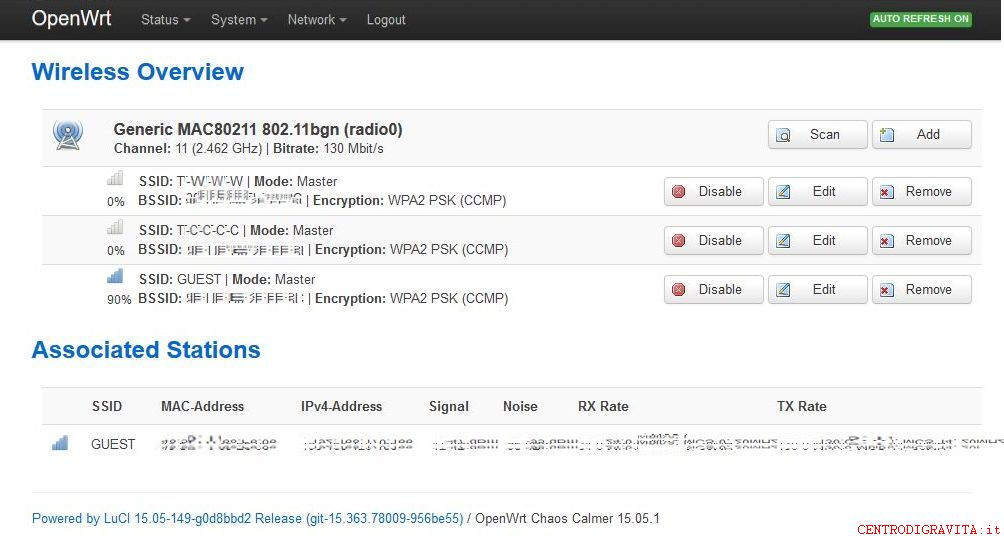 1043nd openwrt Vlan WIFI